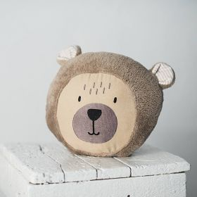Soft bear pillow