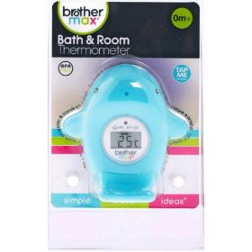 Bath and room thermometer - Whale
