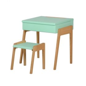 desk and stool together