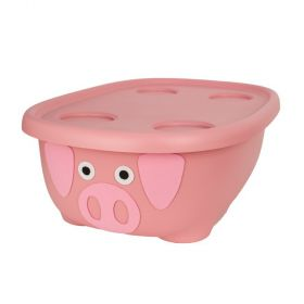 Bath with Hammock - Pink Pig