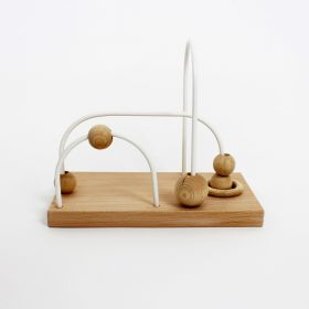 Abacus with 3 wires