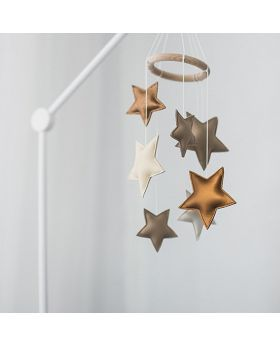 Stars cot mobile toy