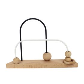 Abacus with 2 wires