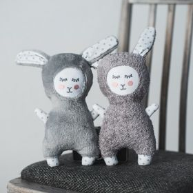 Bunny rattle toy