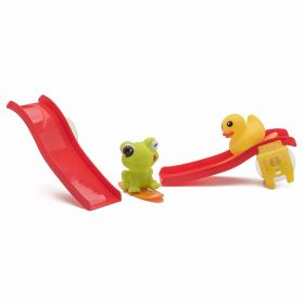 Bath toy - stick & slide