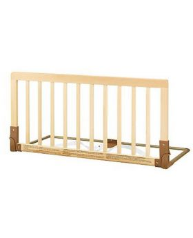 Wooden bed rail - Natural