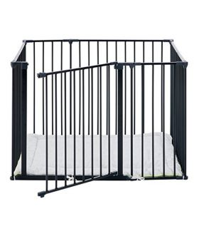 Playpen square - black
