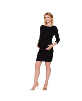 V back elegant maternity dress