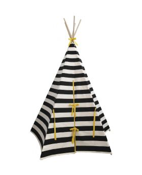 tepee with white background