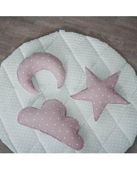 Little bear linen play mat