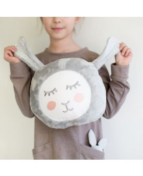Soft bunny pillow