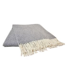 Wave wool blanket