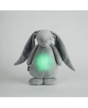 White Noise Bunny friend & nightlight - Silver
