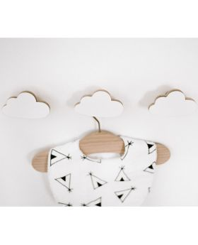Cloud nursery hooks
