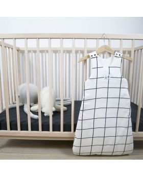Cosy sleeping bag with patterns